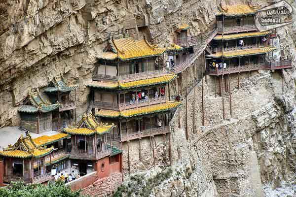 صومعه عجیب چین